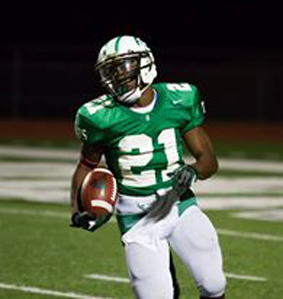 Ja'Michael Adams ran for 69 yards in the second half. (Courtesy: Don Schlottmann)