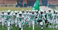 The Cubs rush the field to open up the game agains George Ranch. (Courtesy: Don Schlottmann)