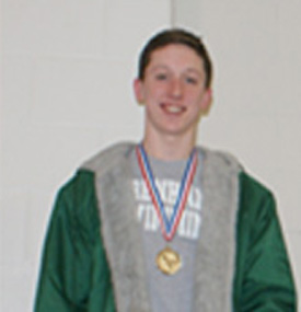 Hudson Smith 200 Individual Medley SILVER MEDALIST