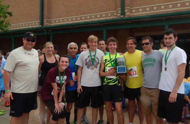 THE BRENHAM RUNNERS TOOK THE TEAM CHALLENE IN BOTH 5K AND 10K