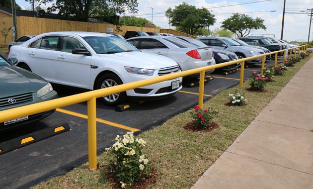 StanPac parking lot