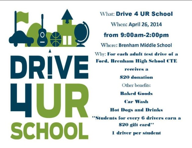 drive 4ur school flyer