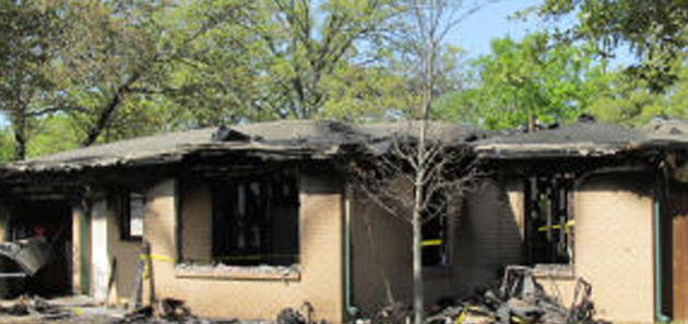 Two people were killed in the house fire in Bryan in April.