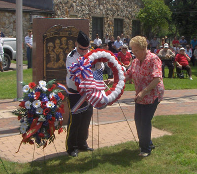 Memorial Day is comemorated and remembered rather than celebrated.