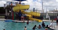 Aquatic center feature