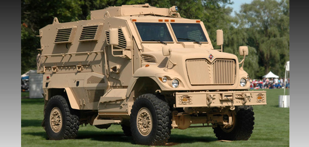 The Austin County Commissioners are finding ways to transport the Mine Resistant Ambush progrection vehicles.