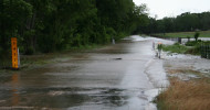 Road flooding