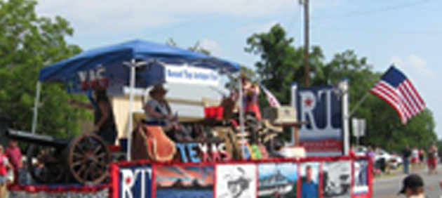 Round Top has the oldest Fourth of July celebration west of the Mississippi.