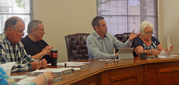 The Washington County Commissioners are adjusting the county purchasing levels.