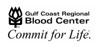 GULF COAST BLOOD CENTER