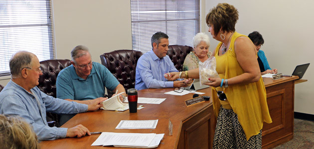 County meeting feature