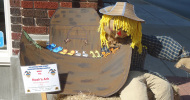 downtown scarecrow feature
