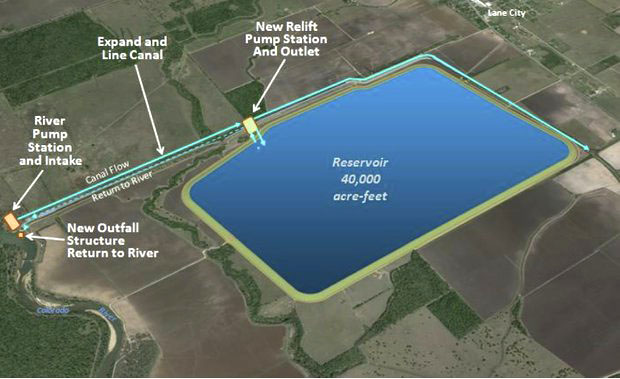 lcra to build new reservoir in wharton county kwhi com