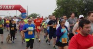 The many participants of the Blue Bell Fun Run