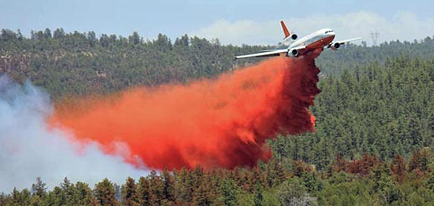 DC10 air tanker feature