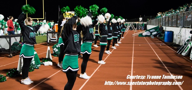 2015 BRENHAM CHEER FEATURE
