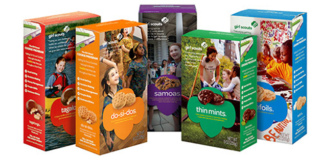GIRL SCOUT COOKIES FEATURE