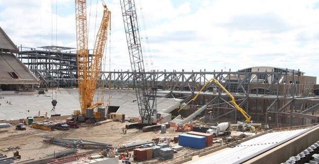 KYLE FIELD CONSTRUCTION FEATURE
