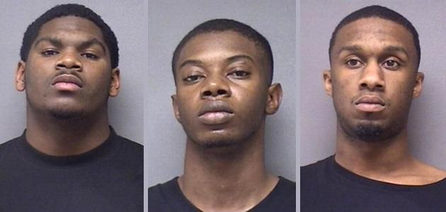 (Left-to-Right) Terry Rogers Jr.; Tyrin Hunter: Zachariah Hawkins (Washington Co. Jail)