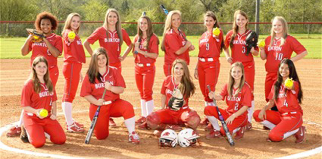 BURTON SOFTBALL TEAM