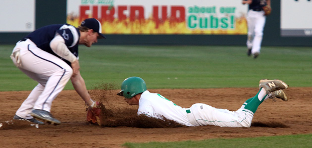 Harper Groves slides into 2nd