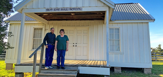 Old Gay Hill School feature