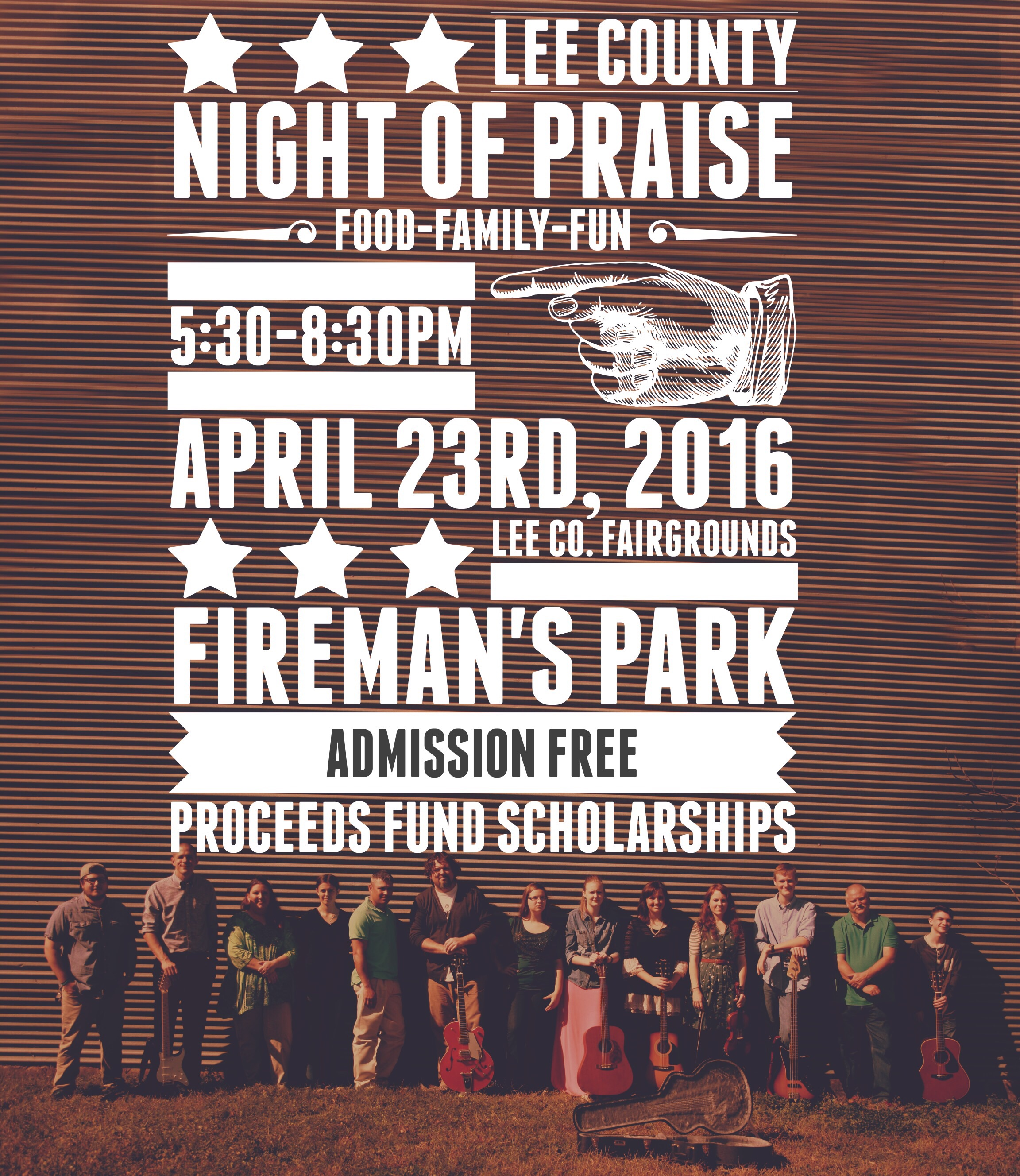 lee county night of praise