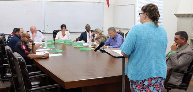 Brenham School Board feature