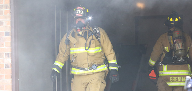 Cottonwood St fire feature