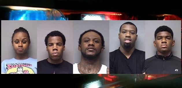 five arrests feature
