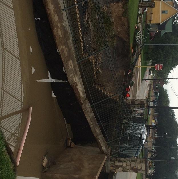 More flood damage near Firemen's Park. (Tom D. Whitehead)