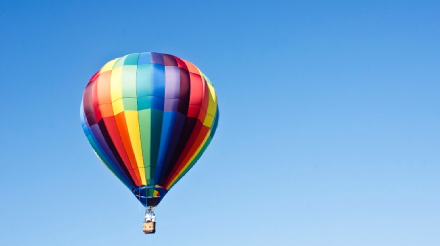 HOT AIR BALLOON FEATURE