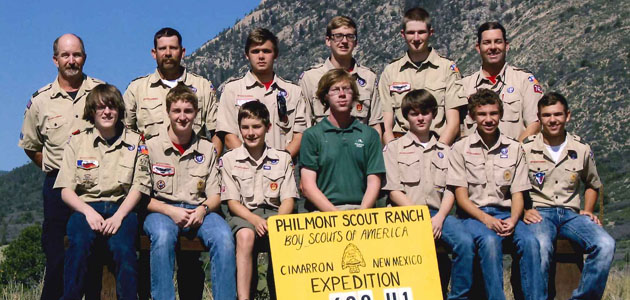 Philmont 742 group feature