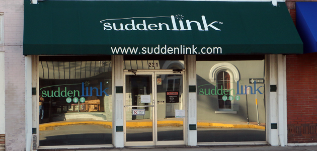 Suddenlink Office feature