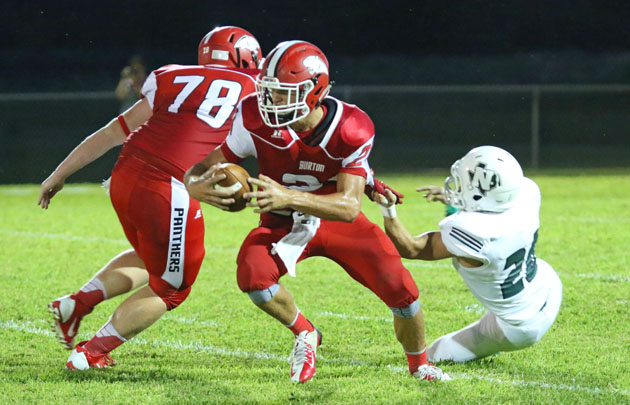 Caleb Harmel rushed for 140 yards and two touchdowns. (Mark Whitehead)