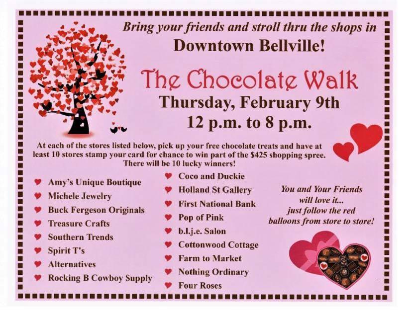 Bellville Chocolate Walk Happening Tomorrow Kwhi Com