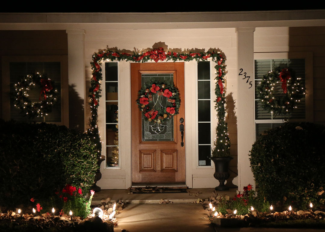 Winners Of Fortnightly Club S Christmas Decorating Contest