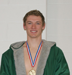 Everett Mahlmann 100 Backstroke  STATE CHAMPION