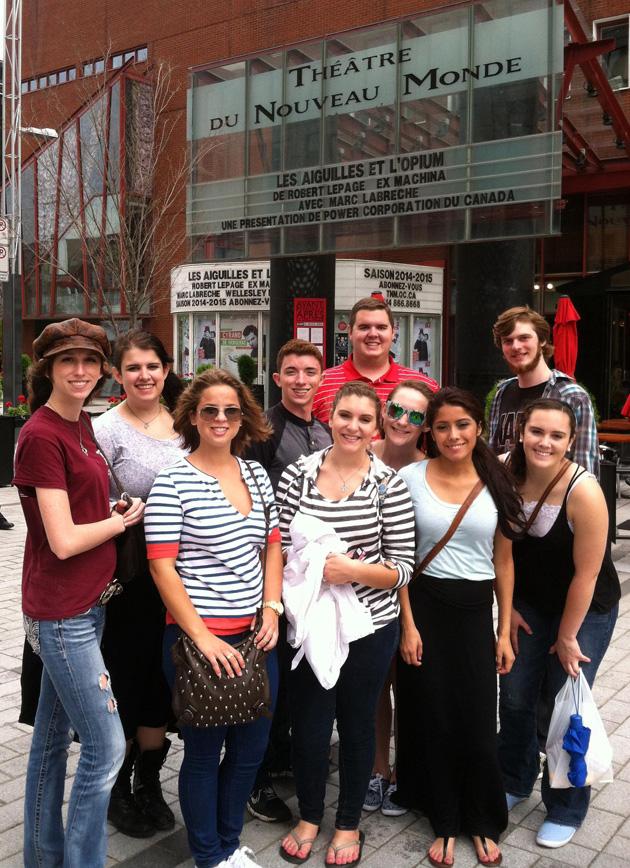 Blinn theater students story