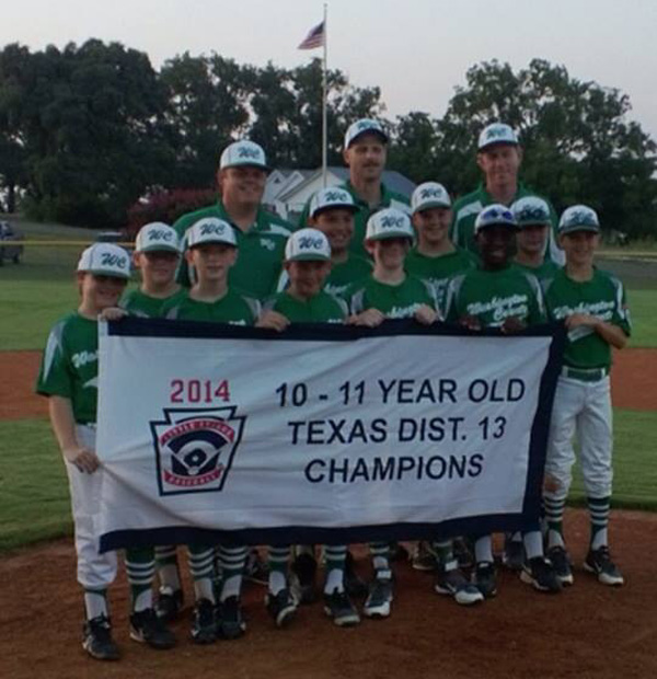 WASHINGTON CO. 11-YEAR OLD ALL-STARS DISTRICT-13 CHAMPIONS