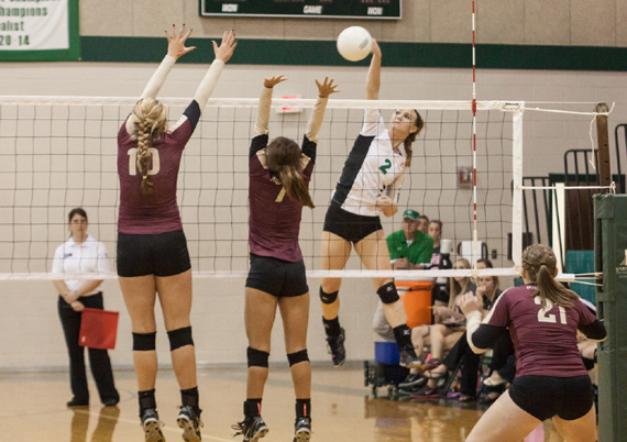 Ashley Homan led the Cubettes with 8 kills.