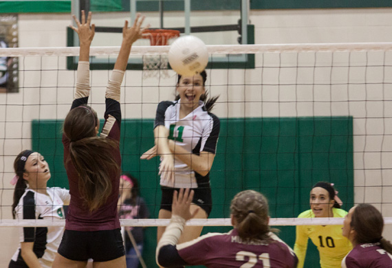 Abby Pugh blasts a shot past the Magnolia West defense. (Courtesy: Yvonne Tomlinson)