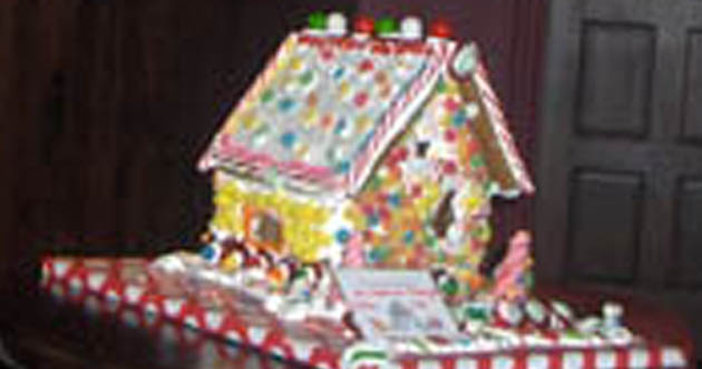Photo of GINGERBREAD AUCTION TO BENEFIT HABITAT FOR HUMANITY TO BE HELD TONIGHT