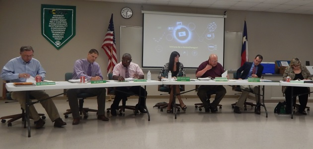 Photo of BRENHAM SCHOOL BOARD TO ELECT OFFICERS