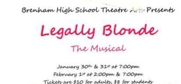 Photo of LEGALLY BLONDE THE MUSICAL AT BRENHAM HIGH SCHOOL