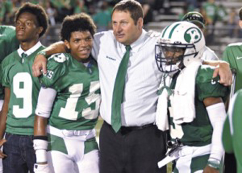 Photo of WEST INSTALLED AS THSCA PRESIDENT