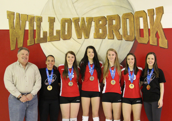 Area Volleyball Players On Winning Tournament Team Kwhi Com