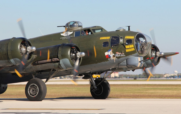Photo of FLYING FORTRESS COMING TO BRENHAM AIRPORT