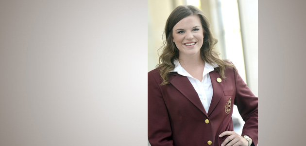 Photo of DEANNA BOSSE ELECTED AS MAROON COAT PRESIDENT