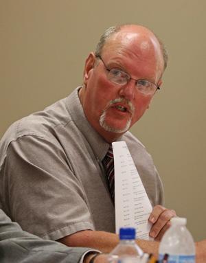 Burton Superintendent James Palmer